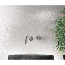 Garden white 3D tiles
