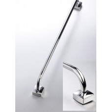 Rieti Single Towel Rail Chrome - 600mm