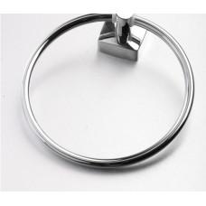 Rieti Towel Ring Chrome