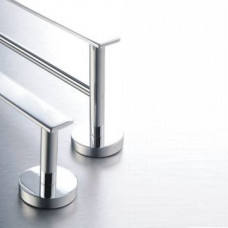 Como Single Towel Rail Chrome - 600mm