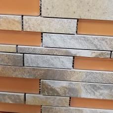 Angel Fire Quartz Mosaic