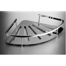 Shower Basket - 1 Tier Corner Stainless Steel