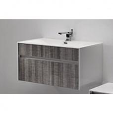 Simplicity 800 Slimline Cupboard & Basin Cart Oak